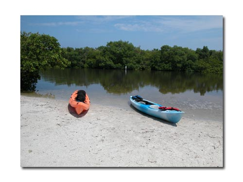 kayaking Fort Desoto is a great way to relax